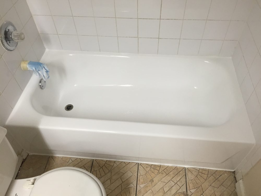 Tub Regazing | CE Bathtub Refinishing service Miami Florida